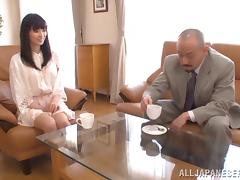 Japanese Mature, Asian, Bra, Couple, Doggystyle, Fingering