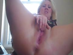 Horny and multi squirt at the Office