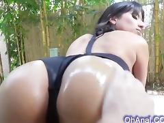hot young perky brunette loves to hard fuck