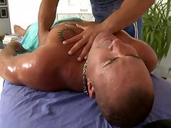 Provocative gay blowjob tube porn video