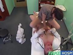 FakeHospital Dirty doctor fucks sexy student