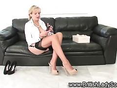 All, Blonde, British, Grinding, Masturbation, Mature