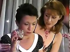Brunette, Brunette, Lesbian, Mature, Nylon, Old