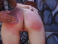 Submissive redhead dominated