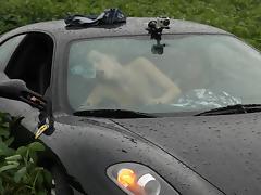 Car, Car, Couple, Fucking, Outdoor