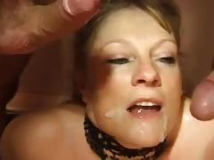 Busty paintress and two horny guys