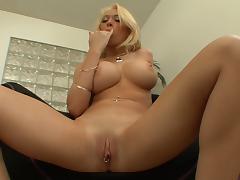 Big Titty Kagney Lynn Karter Gets Nailed Hardcore In Masturbation