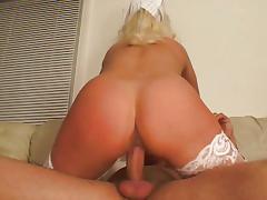 Blond nurse fucked wild by doc