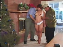 Latina With 2 Guys