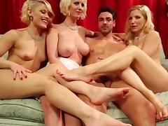 Feet, Feet, Foursome, Group, Orgy, 4some