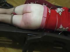 Caning, Amateur, BDSM, Caning, Homemade, Nylon