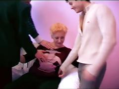 Granny fucked in all holes