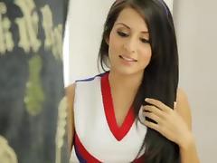 Cheerleader, American, Cheerleader, Cute, Pretty