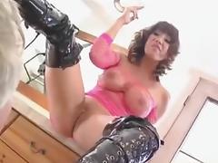 Femdom MILF Face Sitting Her Slave
