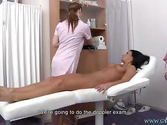 Tea gyno exam porn tube video
