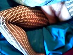Orgasm in Bodystocking tube porn video
