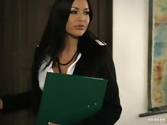 Horny Teacher Drilled His Naughty Student Hardcore Doggystyle