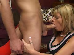 Mom and Boy, Blowjob, Erotic, Group, Lick, Mature