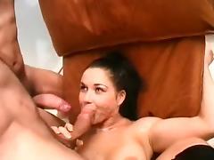 Italian Threesome tube porn video