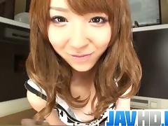 Cute Japanese slut Momose Hikaru hot solo.