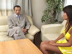 Babe yelling as her hairy pussy is gangbanged hardcore missionary
