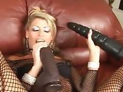 Ass whipping a hot milf