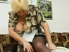 Granny Big Tits, Big Tits, Blonde, Boobs, Mature, Old
