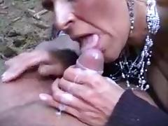 blowjob in the woods tube porn video