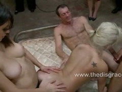 Julie Night gets ass fucked by strangers