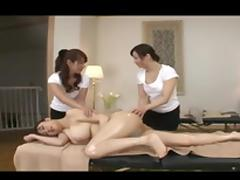 Massage, Asian, Big Tits, Boobs, Japanese, Lesbian