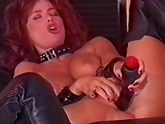 British slut Vida in lesbian action in a classic scene tube porn video