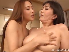 Japanese Lesbian, Asian, Close Up, Fingering, Japanese, Lesbian