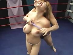 Exposed Catfight tube porn video