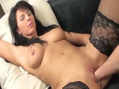 Busty brunette milf needs fisting in her greedy pussy