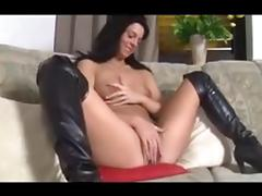 Boots, Boots, Brunette, Cum, German, Masturbation