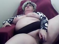 BBW, BBW, Big Tits, Blonde, Masturbation, Toys