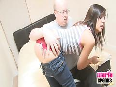 Spanking, Ass, Jeans, Punishment, Spanking, Tattoo