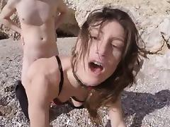 Julia Roca was moaning with pleasure