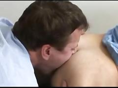 Hairy gay hunks in pretty hot sex encounter tube porn video