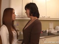 Hitomi Enjou in a naughty blowjob and fingering adventure