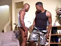 Ebony masculine Gays are involved in nasty anal banging scene tube porn video