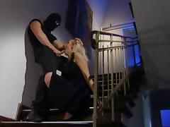 Banged by thief porn tube video