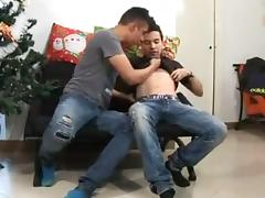 Eager twinks in vivid and hot gay sex fun tube porn video