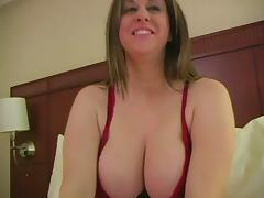 A Chubby Mom fingers herself porn tube video
