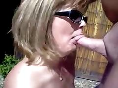 Your sexy wife's got skills!