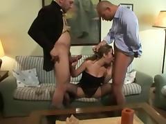 BEAUTIFUL ITALIAN THREESOME tube porn video