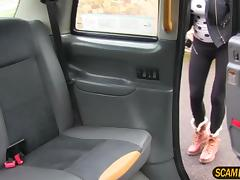 Gorgeous Jordanna sucks and fucks in the backseat of the cab tube porn video