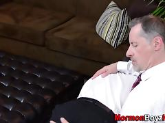 Elder cums for bishop tube porn video