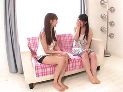 Japanese Lesbian, Asian, Asshole, Erotic, Fingering, Hardcore