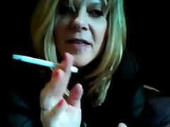 Hot Curvy Mature Cougar Smoking and Riding porn tube video